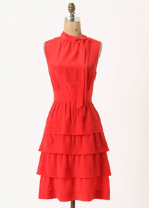 Ruffled Oska dress