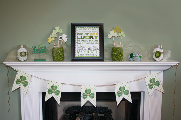 DIY Saint Patrick's Day decor
