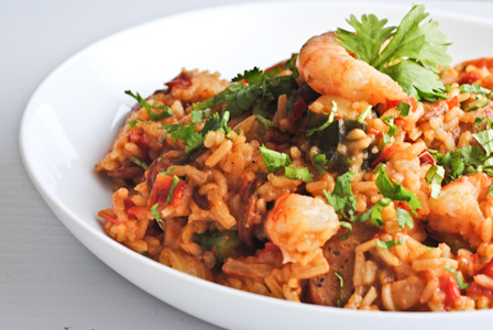 Fat Tuesday Shrimp and Sausage Jambalaya Recipe and Match Ups