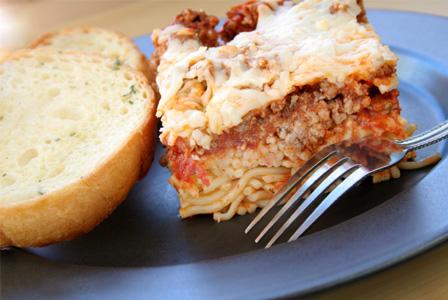 Spaghetti Western casserole