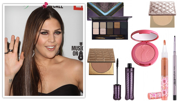 Hilary Scott's 2012 Grammy makeup look