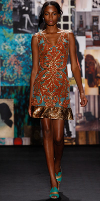 NY Fashion Week 2012 -- Tracy Reese