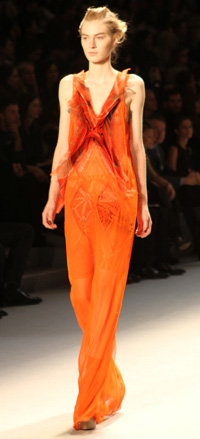 New York Fashion Week 2012 -- Vera Wang