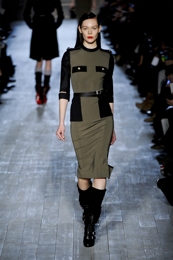 Victoria Beckham - Fall 2012 Fashion Week