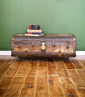 3 Uses For Vintage Suitcases In Home Decor