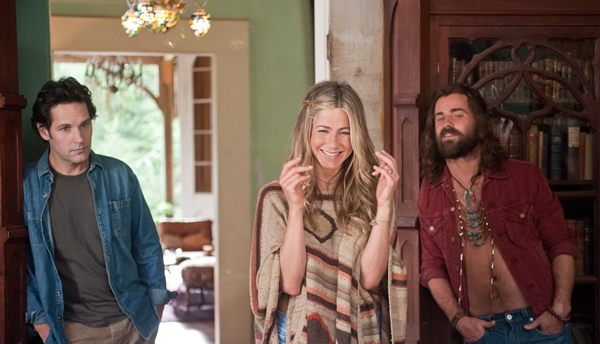 Jennifer Aniston, Justin Theroux and Paul Rudd in Wanderlust movie