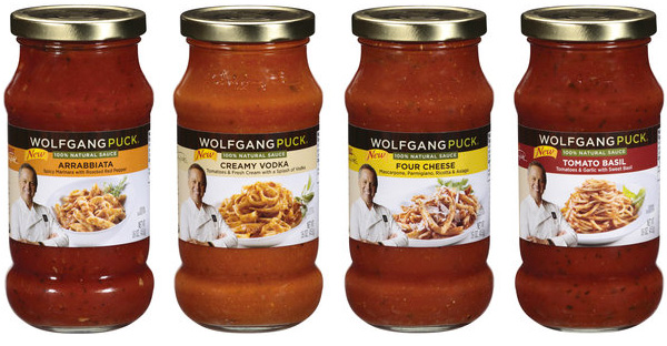 Wolfgang Puck's new pasta sauces