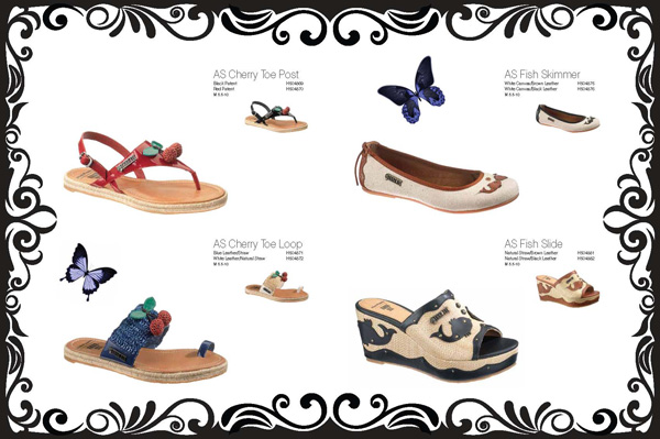 Anna Sui for Hush Puppies spring/summer 2012 collection