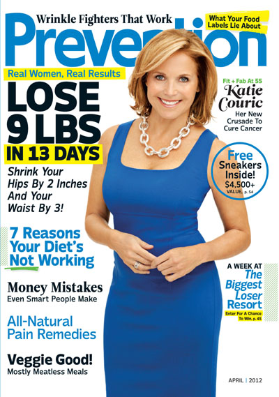 Katie Couric on Prevention