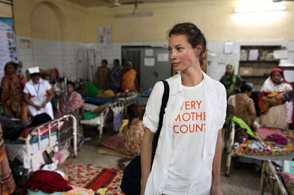 Christy Turlington Burns Every Mother Counts