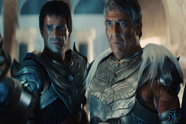 John Carter with James Purefoy and Ciaran Hinds