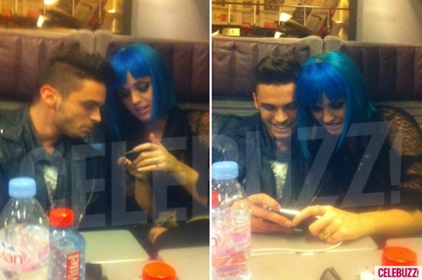 Katy Perry has a train date with Chanel model