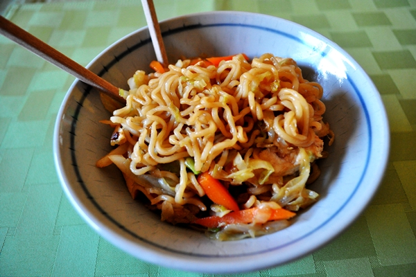 Chicken and noodles make great stir-fry