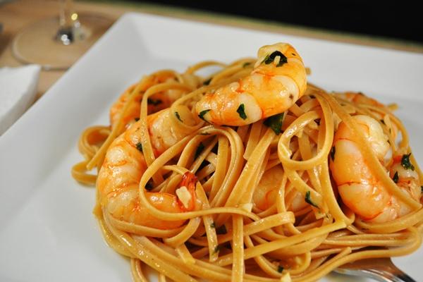 Shrimp and pasta made easy