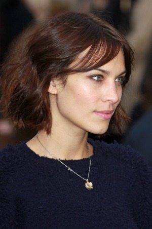 Alexa Chung - The shag hairstyle