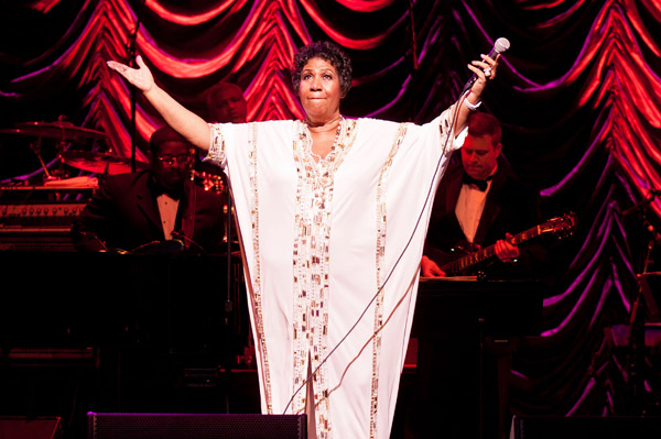 Aretha plans on making more hits