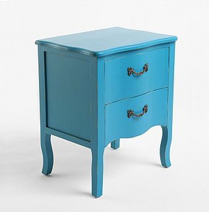 Vintage-inspired side table