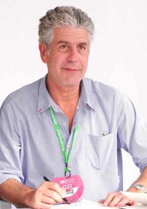 "Bourdain insists: ""I have a heart"""