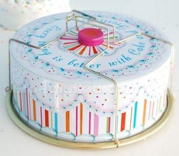 Perpetual Kid Cake Carrier Tin ($25)