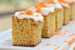 Carrot cake bites