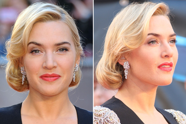 Kate Winslet at the Titanic in 3D premiere in London