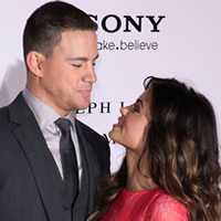 Channing Tatum and wife Jenna Dewan