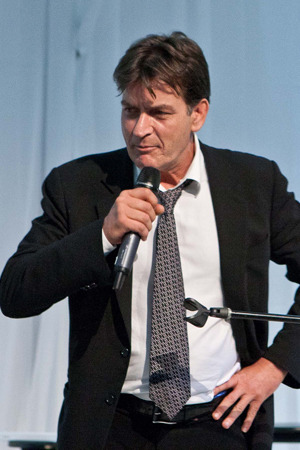 Charlie Sheen on Anger Management