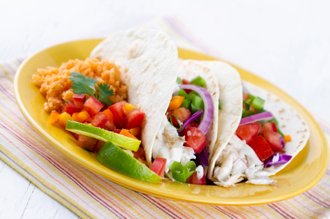 Fish Taco Recipe Tilapia on Chefmom Fast Fish Tacos Jpg