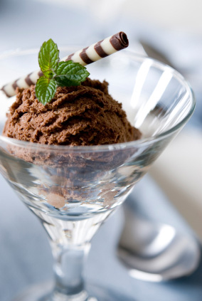 Spicy dark chocoalte mousse