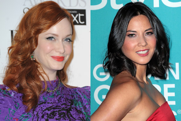 Christina Hendricks and Olivia Munn nude photos leak