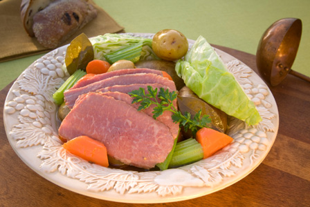 Corn beef and cabbage