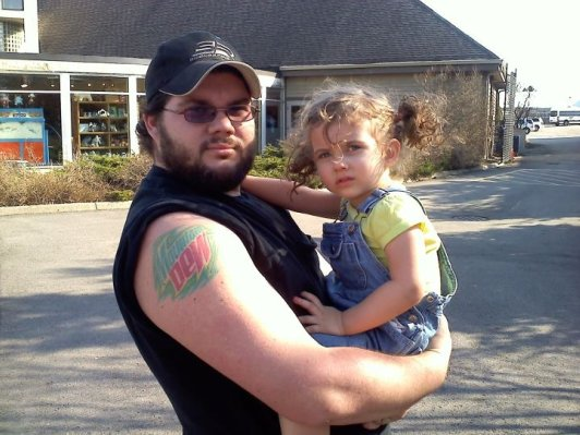 David Scheidegger's tattoo picture