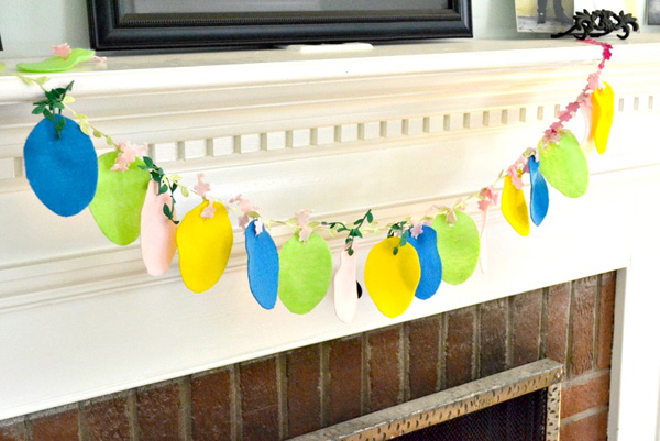 Add festive flair to your mantel
