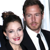 Drew Barrymore and fiance Will Kopelman