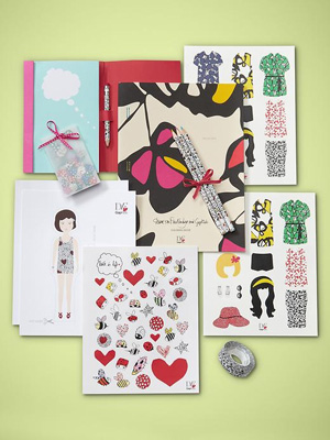 DVF (heart) GapKids School kit: ($30)