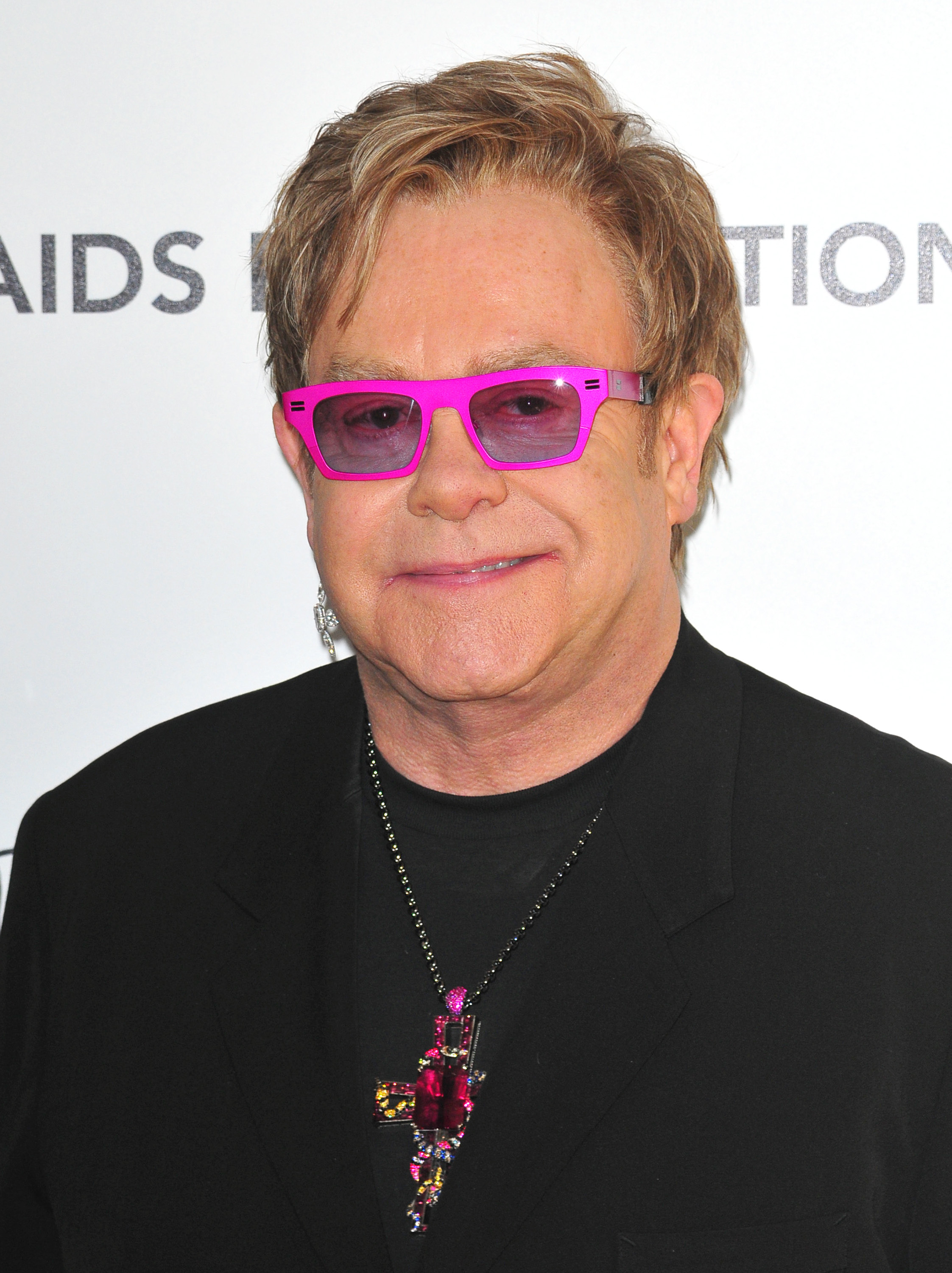 Sir Elton John speaks ...