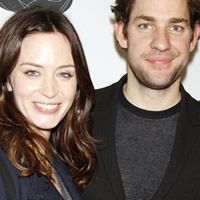 Emily Blunt and John Krasinksi