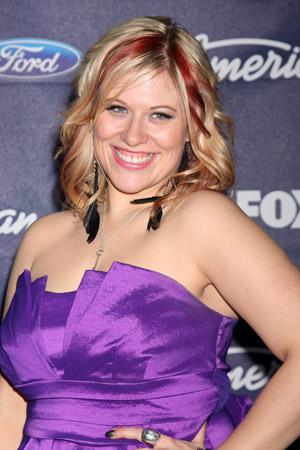 Erika Van Pelt on American Idol