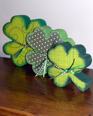 The St. Patrick's Day Shamrock Trio