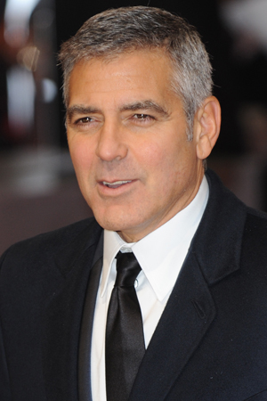 George Clooney arrested during protest