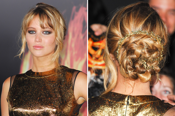 Jennifer Lawrence -- The Hunger Games premiere