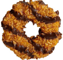 top 10 girl scout cookies