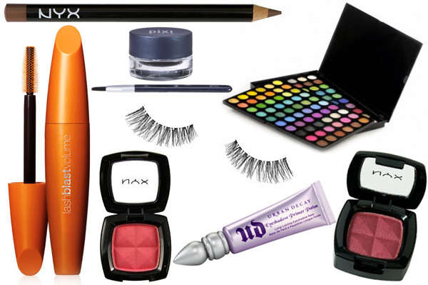 Light your nails and makeup on fire!