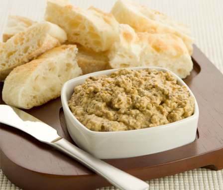 Gluten-free Friday: Baba ghanoush (eggplant dip) and Parmesan crisps