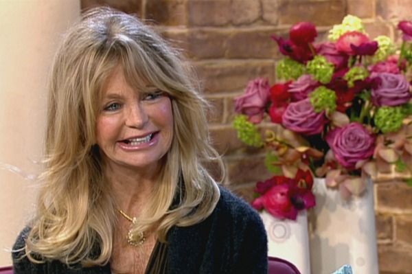 Goldie Hawn just says no to marriage