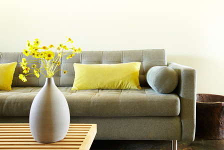 Decorating diva yellow gray and green top three colors for spring 2012 - Home accessories yellow ...