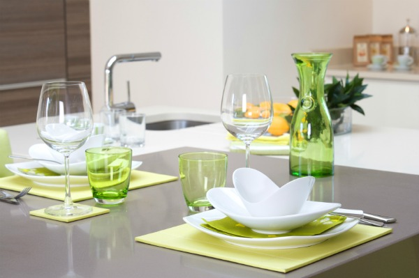 Kitchen Accessories In Green Home Decoration Ideas - Green kitchen accessories ideas