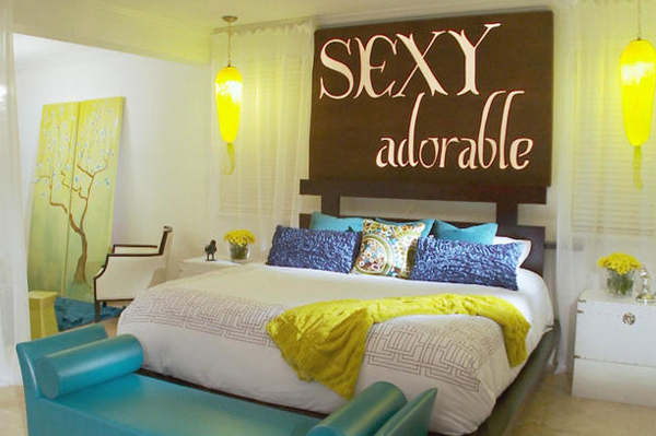 David Bromstad -- Bedroom design