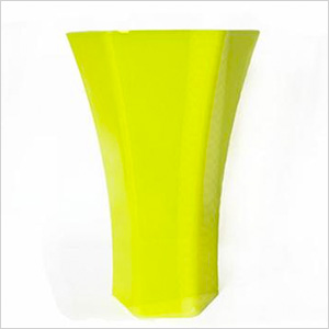 Neon yellow vase, jenlyfavors.com, $4.95