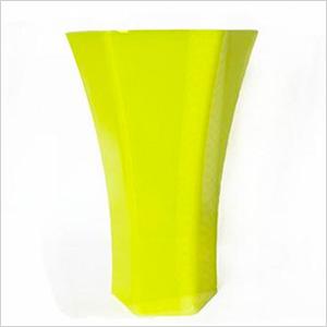 Neon yellow vase, jenlyfavors.com, $4.95